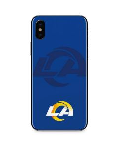 Los Angeles Rams Double Vision iPhone XS Skin