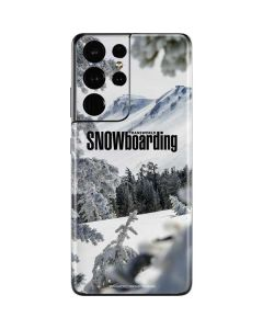 TransWorld SNOWboarding Peaking Galaxy S21 Ultra 5G Skin