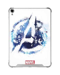 Avengers Blue Logo iPad Air 10.9in (2020) Clear Case