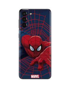 Spider-Man Crawls Galaxy S21 Plus 5G Skin