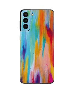 Multicolor Brush Stroke Galaxy S21 Plus 5G Skin