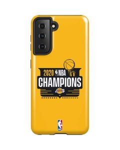 2020 NBA Champions Lakers Galaxy S21 5G Case