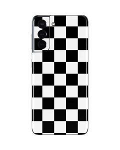 Black and White Checkered Galaxy S21 5G Skin