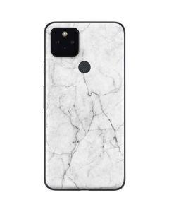 White Marble Google Pixel 4a 5G Skin