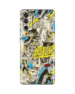 Batgirl All Over Print Galaxy S20 Fan Edition Skin