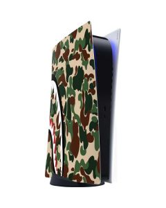 Shark Teeth Street Camo PS5 Digital Edition Console Skin