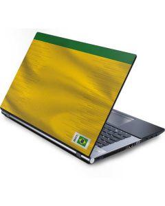 Brazil Soccer Flag Generic Laptop Skin