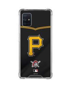 Pittsburgh Pirates Alternate/Away Jersey Galaxy A51 5G Clear Case