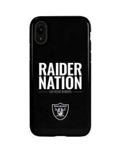 Las Vegas Raiders Team Motto iPhone XR Pro Case