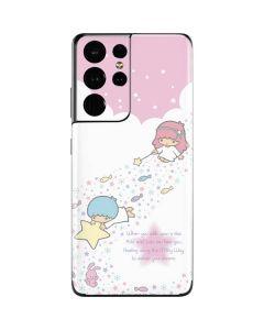 Little Twin Stars Wish Upon A Star Galaxy S21 Ultra 5G Skin