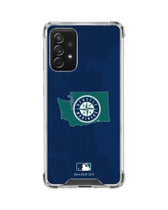 Seattle Mariners Home Turf Galaxy A72 5G Clear Case