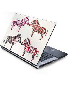 Rainbow Zebras Generic Laptop Skin