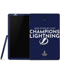 2020 Stanley Cup Champions Lightning Samsung Galaxy Tab Skin