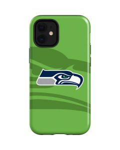 Seattle Seahawks Double Vision iPhone 12 Mini Case