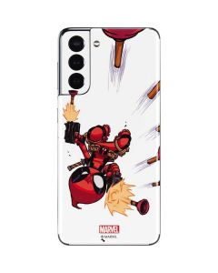 Deadpool Baby Fire Galaxy S21 5G Skin