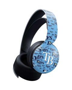 Tampa Bay Rays - Cap Logo Blast PULSE 3D Wireless Headset for PS5 Skin