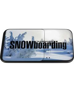 TransWorld SNOWboarding Trees Wireless Charger Duo Skin