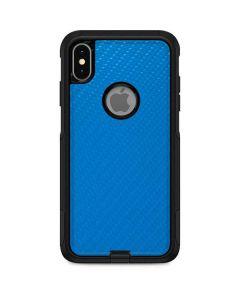 Blue Carbon Fiber Otterbox Commuter iPhone Skin