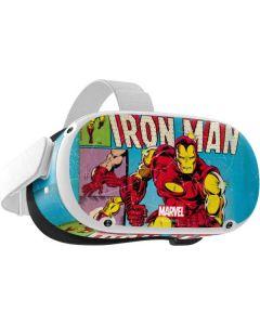 Marvel Comics Ironman Oculus Quest 2 Skin