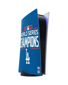 2020 World Series Champions LA Dodgers PS5 Digital Edition Console Skin