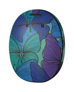 California Watercolor Butterflies MED-EL Rondo 3 Skin