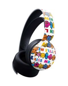 Mr Men Little Miss Characters Bold PULSE 3D Wireless Headset for PS5 Skin