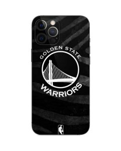 Golden State Warriors Black Animal Print iPhone 12 Pro Max Skin