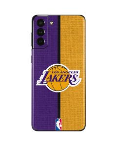 Los Angeles Lakers Canvas Galaxy S21 Plus 5G Skin