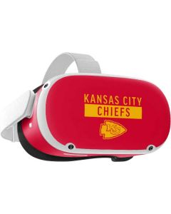 Kansas City Chiefs Red Performance Series Oculus Quest 2 Skin