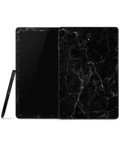Black Marble Samsung Galaxy Tab Skin