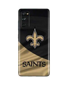 New Orleans Saints Galaxy S20 Fan Edition Skin