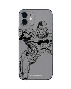Cyborg Comic Pop iPhone 12 Skin