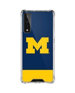 University of Michigan Logo LG Stylo 7 5G Clear Case
