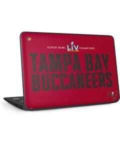 Super Bowl LV Champions Tampa Bay Buccaneers HP Chromebook Skin