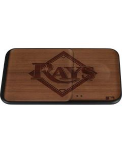 Tampa Bay Rays Engraved Wireless Charger Duo Skin