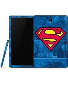 Superman Logo Samsung Galaxy Tab Skin