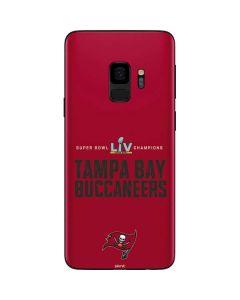 Super Bowl LV Champions Tampa Bay Buccaneers Galaxy S9 Skin