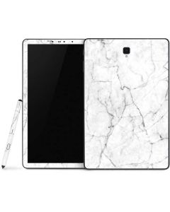 White Marble Samsung Galaxy Tab Skin
