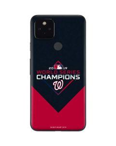 Washington Nationals 2019 World Series Champions Google Pixel 4a 5G Skin
