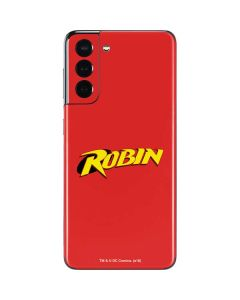 Robin Official Logo Galaxy S21 5G Skin