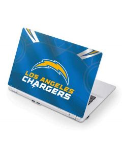 Los Angeles Chargers Team Jersey Acer Chromebook Skin