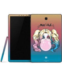 Harley Quinn Mad Love Samsung Galaxy Tab Skin
