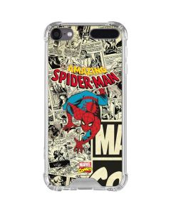 Amazing Spider-Man Comic iPod Touch (5th-6th-7th Gen) Clear Case