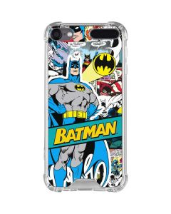 Batman Comic Book iPod Touch (5th-6th-7th Gen) Clear Case
