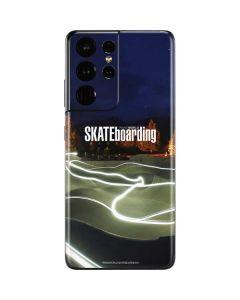 TransWorld Luminescent Skate Park Lights Galaxy S21 Ultra 5G Skin
