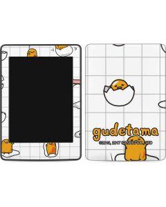 Gudetama Grid Pattern Amazon Kindle Skin