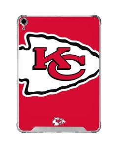 Kansas City Chiefs Large Logo iPad Air 10.9in (2020) Clear Case