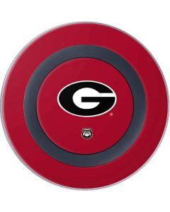 University of Georgia Logo Red Wireless Charger Skin