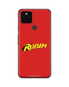 Robin Official Logo Google Pixel 4a 5G Skin