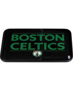 Boston Celtics Standard - Black Wireless Charger Duo Skin